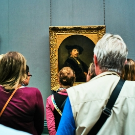 20180919 London L1060907 Selfie Master Rembrandt Aged 34 National Gallery resized